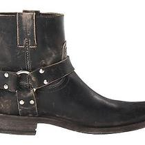 Frye Smith Harness Short Women's Boot Brand New Stonewash Black. Photo