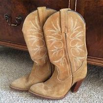 Frye Suede Boots Photo