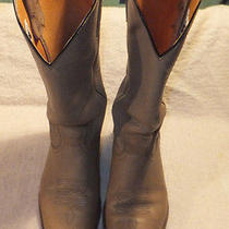 Frye Tan Cowboy Boots Size 10.5 M   Photo