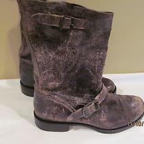 Frye Veronica 7.5 Chocolate Distressed Antique Boot 300.  Photo