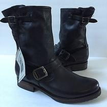 Frye 'Veronica Shortie/short' Slouchy Leather Boots Size 10 Photo