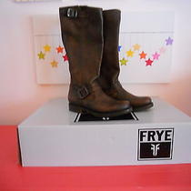 Frye Veronica Slouch Brown Boots Size 6 Photo