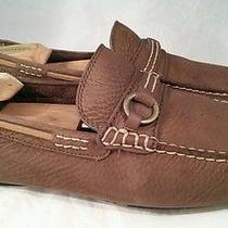 Frye West Ring Leather Driving Moccasin Shoes Men's 11m  Retail 155 Photo