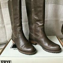 Frye Women's Boots Size 8.5 M Millie Campus in Box Gray (Brownish) Photo