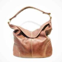 Frye Women's Campus Hobo Handbag- Walnut-Magnetic Closure - Inside Pockets Photo
