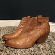 Frye Women's Leather Ankle Booties Size 8.5 Photo
