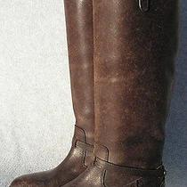 Frye Women's 'Lindsay Plate' Leather Boots Size 7  Brown Photo