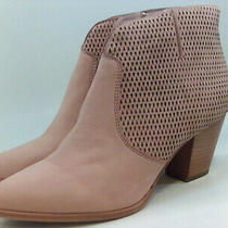 Frye Women's Shoes Jennifer Bootie Leather Pointed Toe Ankle Blush Size 9.5 Fy Photo