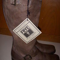 Frye Women's Veronica Slouch Tall Boots Size 10m Slate Color Style 76608 New Photo