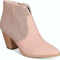 Frye Womens Jennifer Bootie Closed Toe Ankle Clog Boots Blush Size 6.5 Photo