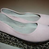 Fs/ny French Sole New York Pink Suede Sloop Ballet Flats Made in Italy  9.5 Photo