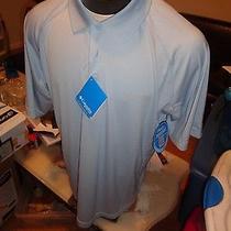 Fsv-  55 New Columbia Pfg Freezer Mens Polo Shirt   Sz -  Medium Photo