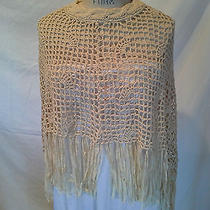 Fun Crocheted Capelet Poncho - by Modern Classics One Size  Photo