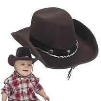 Fun Express Baby Sized Cowboy Western Rodeo Hat Osfa Photo