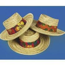 Fun Express Beach Hat With Hibiscus Print Band (1 Dozen) Photo
