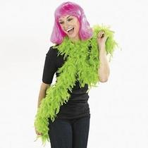 Fun Express Feather Boa Neon Green Photo