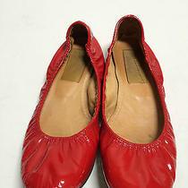 Fun Fun Fun Lanvin Ballet Flats Red Patent Leather Size 37 Photo