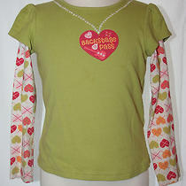 Fun Gymboree 'Backstage Pass' Celery Green Shirt (6) Photo