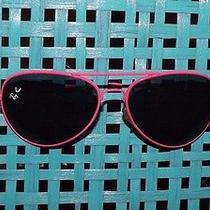 Fun Hot Pink Ray-Ban Aviator Sunglasses  Photo