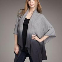 Fun Joie Thaline Ombre Asymmetric Cardigan Sweater S Nwt  Photo