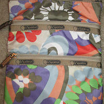 Fun Spring Lesportsac Floral Crossbody Bag Shoulder Purse Photo