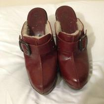 Funky Chunky Studded Clog by Frye 7 Very Rare High End and Well Made Photo