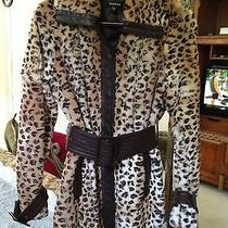 Fur Leopard Print Coat Photo