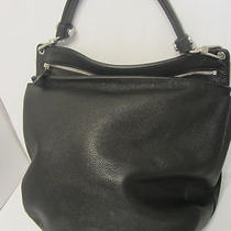 Furla New Black Leather Hobo Bag Shoulder Bag Pursse Msrp 550 Sample Sale Photo