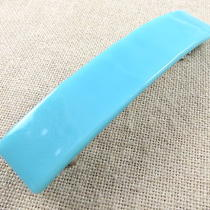 Fused Glass Hair Barrette 3.5