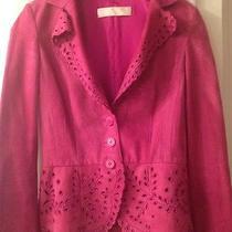 Fushia Suede Valentino Jacket  Photo