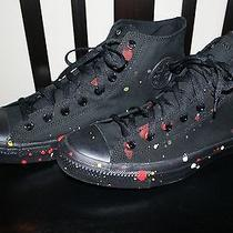 Futura X Ct Converse X Hennessy vs Custom Sneakers Men's 13 Hand Painted Rare  Photo