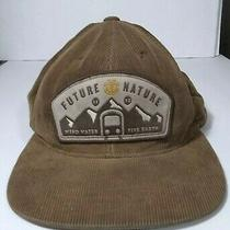 Future Nature Patch Hat Element Crowns Yupoong Brown Corduroy Sample Cap  Photo