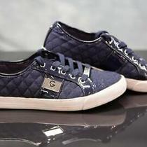 G by Guess Backer 3 Women's Shoes Quilted Pattern Fashion Sneakers Blue Size 7.5 Photo