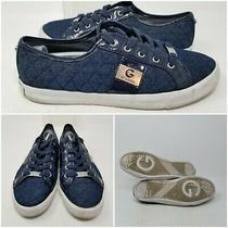 G by Guess Backer Blue Comfort Walking Tennis Shoes Sneaker Women's Size 8.5 Photo