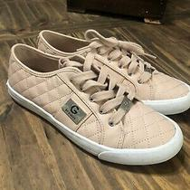 G by Guess Blush Pink Tennis Shoes Sneaker Athletic Size 9 Womens Euc Photo
