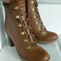 G by Guess Galls Boots Luggage Sz 7.5m Photo