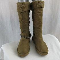 G by Guess Gghorizan Women's Boots Faux Fur Brown Multi Fabric Us 5.5 (M) Photo