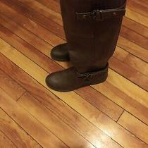 G by Guess Harvest Women's Dark Brown Tall Boot 7m (Zap3170) Photo