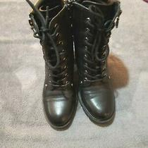 G by Guess Jaydyn Combat Boot - Womens Size 7 Photo