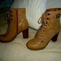 G by Guess Lace Up    Boots Combat Boots Booties Size 8.5m Photo