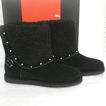 G by Guess New Womens Ganya Black  Boots 7.5 M Shoes Nwb Photo