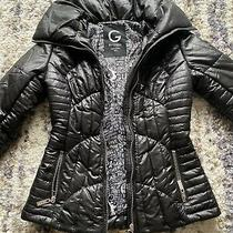 G by Guess Womens Black Puffer Jacket Immaculate Condition Size Xs  Photo