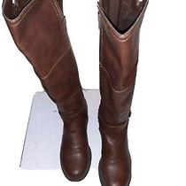 G by Guess Women's Gghillie Tall Riding Boot Size 7.5m Brown Photo