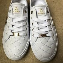 G by Guess Women's Quilted Leather Sneakers Whitesize 6.5- New/never Worn Photo