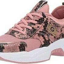 G by Guess Women's Shoes Jimmi Low Top Lace Up Fashion Sneakers Blush Size 8m Photo
