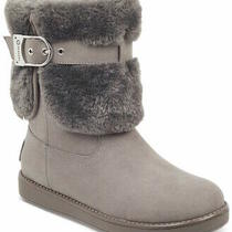 G by Guess Womens Aussie Closed Toe Ankle Cold Weather Boots Grey Size 6.5 0eg Photo