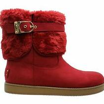 G by Guess Womens Aussie Closed Toe Ankle Cold Weather Boots Red Size 7.0 Photo
