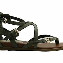 G by Guess Womens Carlyn Open Toe Casual Ankle Strap Sandals Green Size 6.5 Tw Photo
