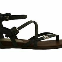 G by Guess Womens Carlyn Open Toe Casual Ankle Strap Sandals Green 2 Size 9.5 Photo