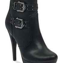 G by Guess Womens Dalli2 Almond Toe Ankle Fashion Boots Black Size 9.5 Eyqd Photo